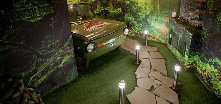 Посещение квест-комнаты «Парк Юрского Периода» в любой день недели от «ZiGRAYMO»