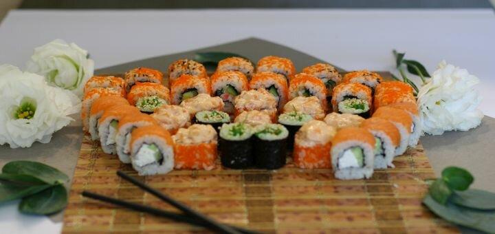 Скидка 60% на суши-сет «Яманаси» от магазина-ресторана японской кухни «Суши WOK»
