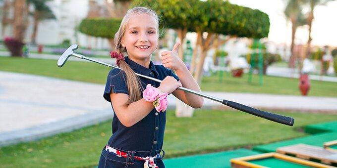 Скидка 30% на детский праздник с квестами в развлекательном клубе «GolfParty»