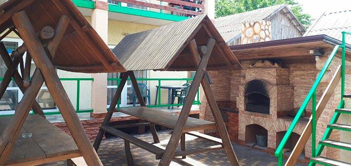 От 3 дней отдыха на бархатный сезон в отеле «Миндаль» в Затоке на Черном море