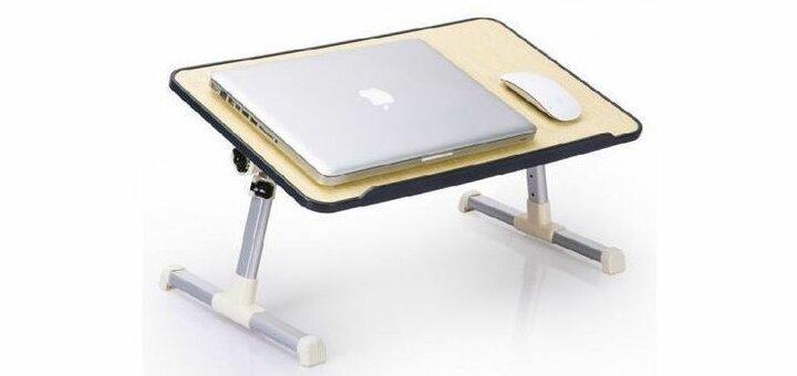 Скидка 23% на столик для ноутбука раскладной от «Vtrende VV»