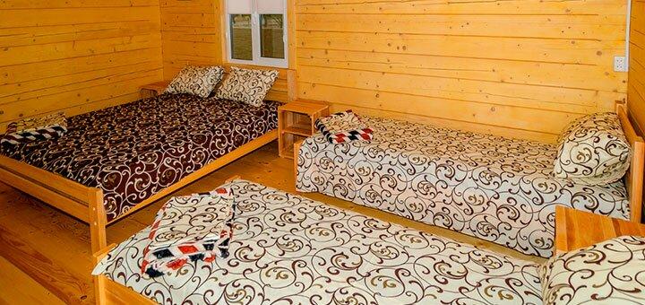 От 3 дней отдыха в номере люкс на базе отдыха «Грачи Прилетели» на Азовском море