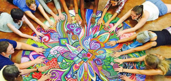 До 4 групповых занятий арт-терапией от медитационного центра «Глубина души»