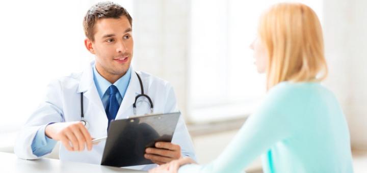 Обследование хирурга и УЗИ в клинике малоинвазивной и лапароскопической хирургии
