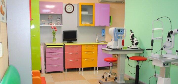 Первичная диагностика зрения у детей в кабинете офтальмолога доктора Степановой