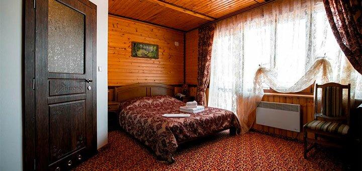 От 3 дней отдыха с питанием в отельном комплексе «Карпатська вежа» в Мигово