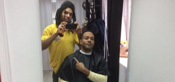 Мужская стрижка и коррекция бороды в барбершопе «Leo Barber»
