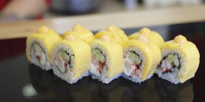 Сет «Море» в суши-баре «Пан-Кемон»