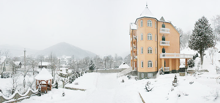 5 дней отдыха на Новый год с экскурсией в отельном комплексе «Горный спуск» в Карпатах