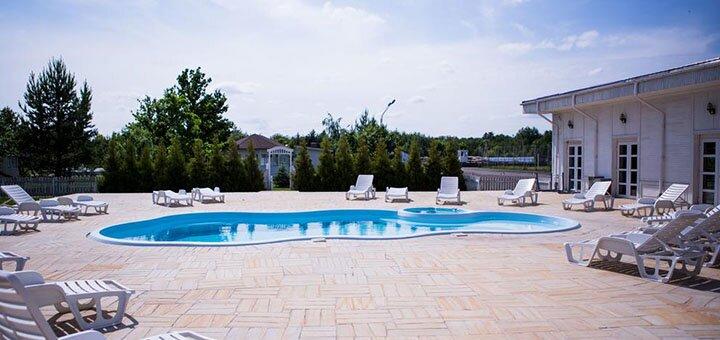 2 дня SPA-отдыха с питанием и посещением бассейна в комплексе «Бабушкин Сад» под Киевом
