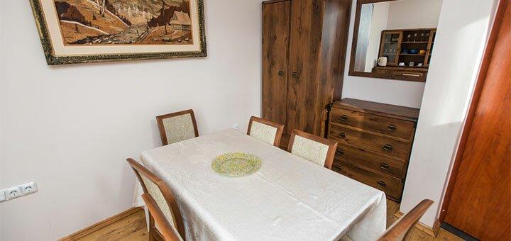 От 3 дней отдыха в декабре с питанием в отеле «Горганы» в Карпатах
