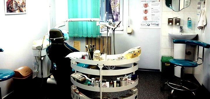 Скидка до 68% на ультразвуковую чистку зубов для одного или двоих в стоматологии «Диана»