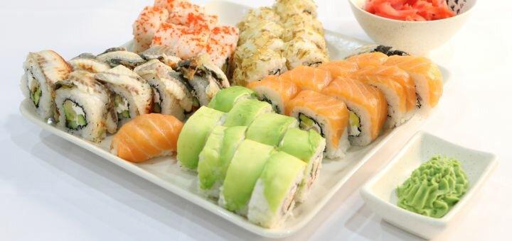 Скидка 60% на суши-сет «Адмиральский» от службы доставки «Pako»