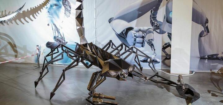 Cкидка 50% на билеты на выставку роботов-трансформеров в ТРЦ «Караван»