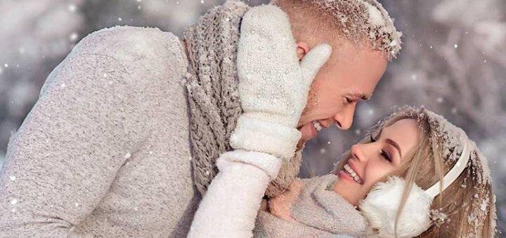 Художественная фотосессия «Моя волшебная зима» от фотографа Дмитрия Матвийца