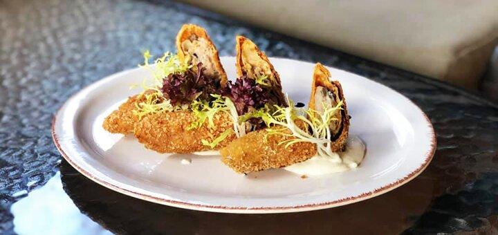 Скидка 50% на все меню кухни, коктейли Лонг-Айленд и Марокканский смеш в кафе «Поляна»