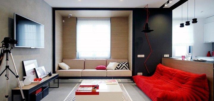 Индивидуальный дизайн-проект помещения от студии дизайна «Design studio Bluehorse»