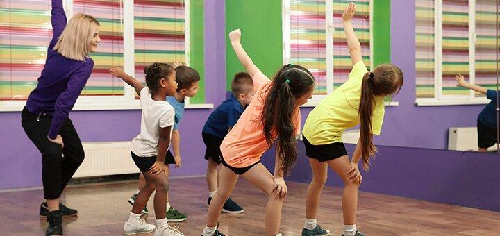 8 занятий гимнастикой, Hip-Hop танцами или Aerostretching для детей в студии «2L studio»