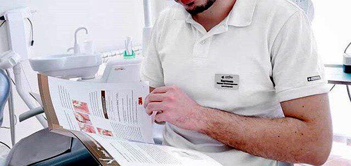 Ультразвуковая чистка зубов, Air-Flow и фторирование зубов в стоматологии «Ortho Dental Clinic»