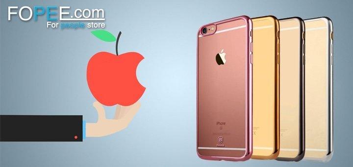 Скидка 30% на чехлы для iPhone в интернет-магазине Fopee.com!