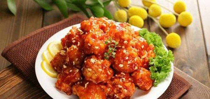 Скидка 30% на все меню кухни и бара в ресторане корейской кухни «Хан Ганг»